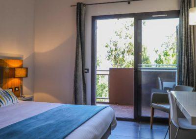 Hôtel San Lucianu - Chambre mer