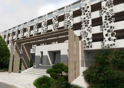 Hotel San Lucianu - Facade