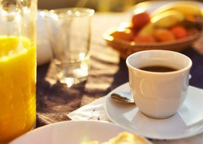 Hôtel San Lucianu - Petit déjeuner